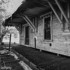 Former Boston & Maine Station in Ossipee on the Conway Branch. Taken with a Pentax 67 on Tri-X.
