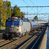 Amtrak train 99 is twelve minutes out of South Station on Sunday morning October 27, 2013.